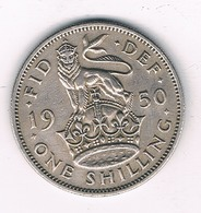 1 SHILLING  1950 GROOT-BRITANNIE /8484// - 1902-1971 : Post-Victorian Coins