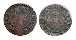 RARE!!! JEAN-THEODORE Double Tournois (Cugnon) 1633 CGKL R2 A VOIR!!! - 476-1789 Feodale Periode