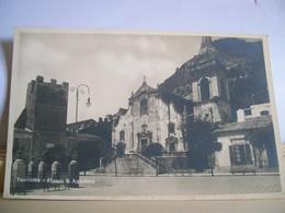 Messina - Taormina - Piazza S. Agostino - Piazza IX Aprile - Chiesa - Hotel Metropole - Castello E Torre Dell'Orologio - Chiese E Conventi