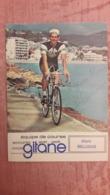 Alain BELLOUIS Gitane Autographe Manuscrit - Cyclisme