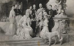 CARTE POSTALE PHOTO ORIGINALE 9CM/14CM : EMPEREUR ALLEMAND GUILLAUME II ET L'IMPERATRICE AUGUSTA VICTORIA CHATEAU BERLIN - Personnages Historiques