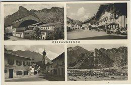 Oberammergau.   Sent To Denmark 1950.  S-4512 - Oberammergau