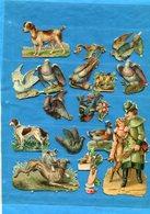DECOUPIS-Lot 15--oiseaux Et Chiens -birds And Dogs And Others--impec Neufs-Authentics Non Collés -années 1900 - Animals