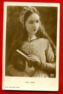 MOVIE STAR LILIAN GISH # 1034/1 VINTAGE PHOTO PC. PUBLISHER GERMANY USED 162 - Actors