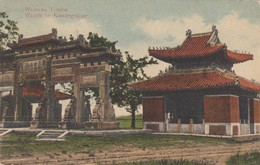 WESTERN TOMBS TO TONG-KOWW. 1914 - Chine