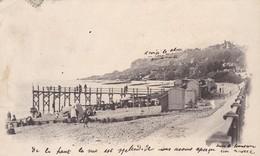 76. LE HAVRE. CPA..  LE CAP DE LA HEVE. ANNEE 1903 - Cap De La Hève