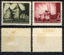 CROAZIA - 1941 - PAESAGGI DELLA CROAZIA - MH - Croazia