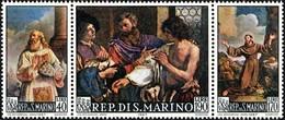 San Marino 1967 Serie Guercino - Saint-Marin