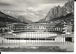 JEUX OLYMPIQUES HIVER - OLYMPICS WINTER GAMES - CORTINA D AMPEZZO 1956 - STADE OLYMPIQUE - STADIUM STADIO - Jeux Olympiques