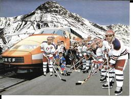 JEUX OLYMPIQUES HIVER - OLYMPICS WINTER GAMES - CALGARY 1988 - EQUIPE DE FRANCE HOCKEY SUR GLACE - Jeux Olympiques