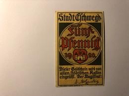 Allemagne Notgeld Allemagne Eschwege 5 Pfennig - [ 3] 1918-1933 : République De Weimar