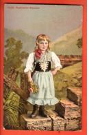 TRG-18 Appenzellerin-Mädchen In Tracht. Gelaufen 1910 - AI Appenzell Rhodes-Intérieures
