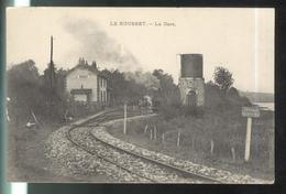 CPA Le Rousset - La Gare - Circulée 1921 - Altri Comuni