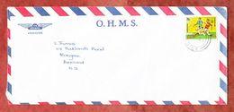 Luftpost, EF Olympische Spiele Moskau Fussball Tschechoslowakei, Alofi Nach Auckland 1980 (61331) - Niue