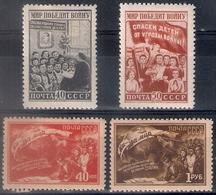 Russia 1950, Michel Nr 1507-10, MLH OG - 1923-1991 USSR