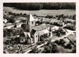 21443 Cpm  RELANGES  : Eglise  , Superbe  Carte Photo En Vue Aérienne !  ACHAT DIRECT !! - Sonstige Gemeinden