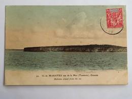 C.P.A. : TAHITI : Ile De MAKATEA, Vue De La Mer (TUAMOTU), Timbre En 1912 - Tahiti