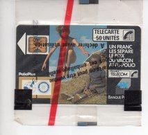 Télécarte Phonecard Neuve Sous Blister NSB 50 Anti Polio Banque Populaire Rotary Club Toulouse Est RARE F 27A POLIO SC4 - 1988