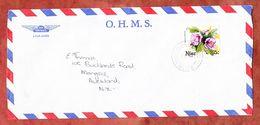 Luftpost, EF Hibiskus, Alofi Nach Auckland 1981 (61332) - Niue