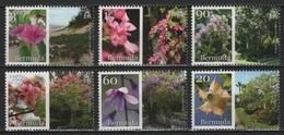 Bermuda (2016) - Set -  /  Flora - Plants - Plantes - Flowers - Blumen - Fleurs - Fiori - Flores - Herbs - Orchids