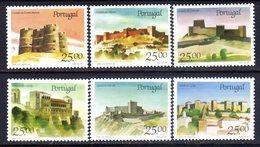 Portugal Sc#1688-1693 (1987) Portuguese Castles Full Set OG MNH** - Full Sheets & Multiples