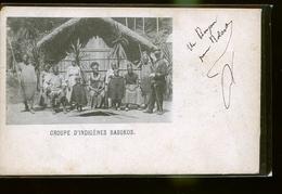 Indigenes BASOKOS       RARE 1900        JLM - Postcards