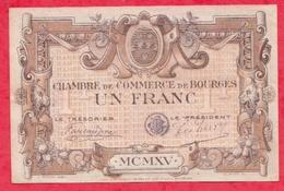 1 Francs Chambre De Commerce De Bourges Dans L 'état (61) - Chambre De Commerce