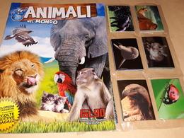 Animali Nel Mondo Album Vuoto+set Completo Figurine E Fuori Raccolta Fol Bo 2011 - Stickers