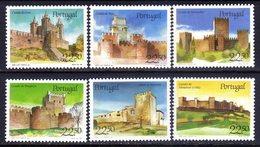 Portugal Sc#1663-1668 (1986) Portuguese Castles Full Set OG MNH** - Ganze Bögen