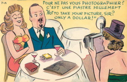 COMICS, HUMOUR 0 POUR NE PAS VOUS PHOTOGRAPHIER ? C'EST 1 PIASTRE SEULEMENT - LORENZO AUDET ENR, ÉDITEUR - - Humour