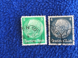 Germany -1930-32  Issue, Very Lightly Canceled & Hinged Set Of 2 - Used Stamps