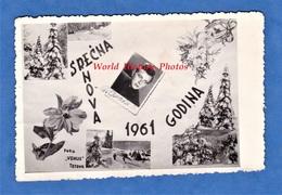 CPA Photo - TETOVO , Macedonia - Montage Photographique - Srecna Nova 1961 Godina - Foto Vehus - Macédoine