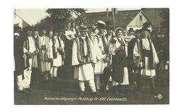 AK Trachtengruppe Aus Czernowitz - Kaiserhuldigungsfestzug 1908 In Wien - Bukowina - Rumänien
