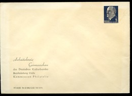 DDR PU14 B2/001a Privat-Umschlag ARBEITSKREIS GANZSACHEN Halle 1965 - [6] Repubblica Democratica