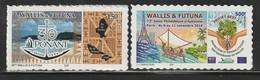 WALLIS Et FUTUNA - 2018 -2 TIMBRES ADHESIFS : 30 Ans De Ponant + 72e Salon Philatélique D'automne - Wallis-Et-Futuna