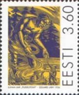 Estonia Estland 1998 MNH **  Mi. Nr. 332 Birth Centenary Of Juhan Jaik - Estonie