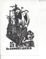 Ex Libris.85mmx120mm. - Ex-libris