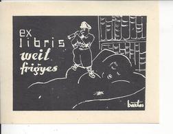 Ex Libris.105mmx80mm. - Ex-libris