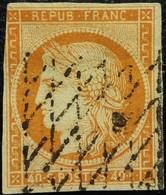FRANCE Y&T N°5 Cérès 40c Orange Oblitéré - 1849-1850 Ceres