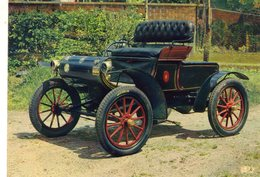 Oldsmobile  Curved Dash (1900)  -  Carte Postale Pub. Trophirès - Passenger Cars