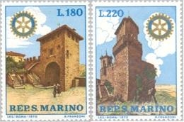 San Marino 1970 Serie Rotary - San Marino