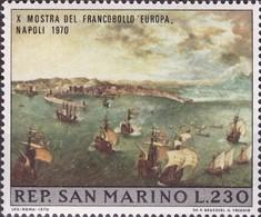 San Marino 1970 Stampexhibition-Napels - San Marino