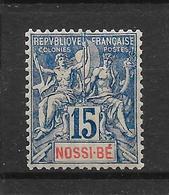 NOSSI BE - N° 32 NEUF * - COTE = 16.00 € - Nossi-Bé (1889-1901)