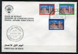Kuwait 2003. Yvert 1683-85 FDC. - Kuwait