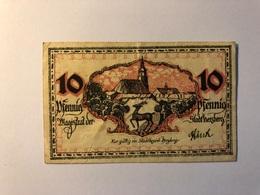 Allemagne Notgeld Allemagne Herzberg 10 Pfennig - [ 3] 1918-1933 : République De Weimar