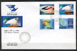 Kuwait 2003. Yvert 1686-89 FDC. - Kuwait