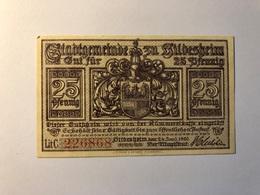 Allemagne Notgeld Allemagne Hildesheim 25 Pfennig - [ 3] 1918-1933 : République De Weimar