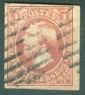 Luxembourg    2  Ob  Voir Scan Et Description - 1852 William III