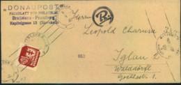 1944, Slovakian Wrapper From Bratislava With GESTAPO Censor - Germania