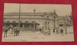 54 - Nancy - La Gare ::: Animation - Attelage ---------- 480 - Gares - Sans Trains